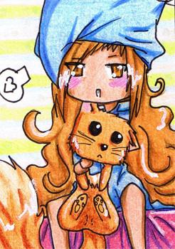 #028 ~ Miyu ~ Buntstifte ~ vergeben an Bluemoon-chan