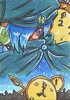 #023 ~ Masato - Wächter der Zeit ~ Buntstifte ~ nicht frei