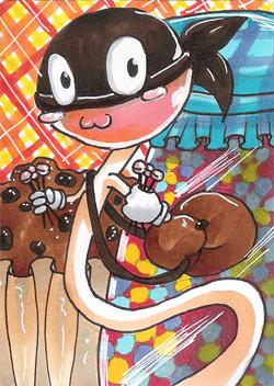 #072 ~ Süßigkeiten STA auf Animexx ~ Copic Marker ~ vergeben