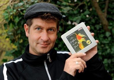 """Lars Gebhardt mit Hörbuch """"Ein Goldfrisch in der Grube"""""""