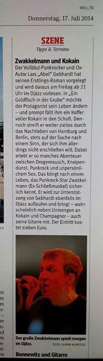 Lars Gebhardt WAZ Duisburg 17.07.14