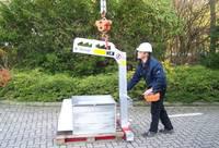 Palettengabel - Autokran, LKW-Kran Zubehör bei Mietkran Hamburg