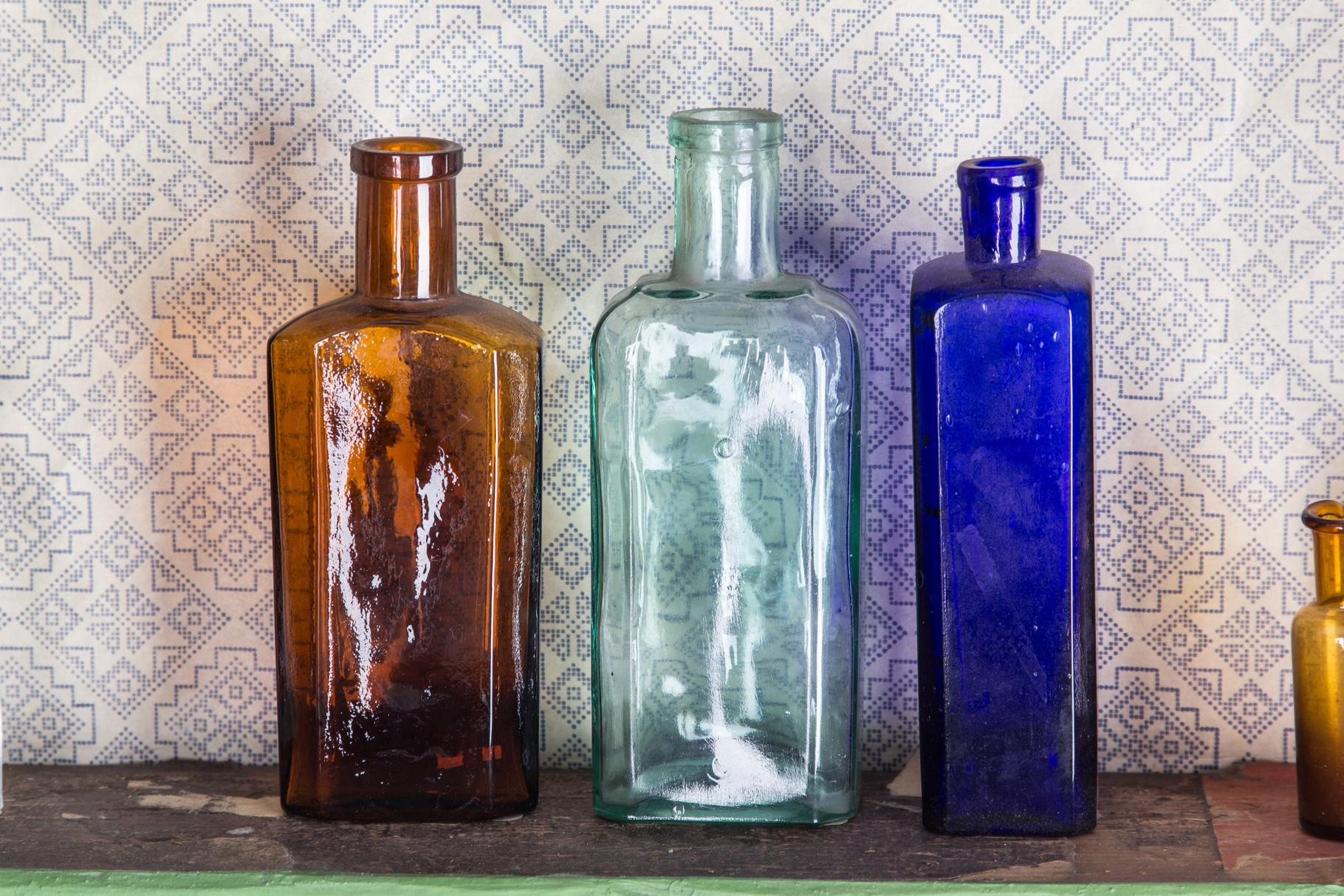 Mundgeblasene Flaschen