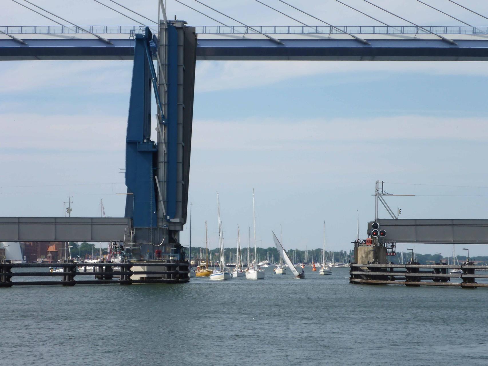 Durchfahrt Stralsund