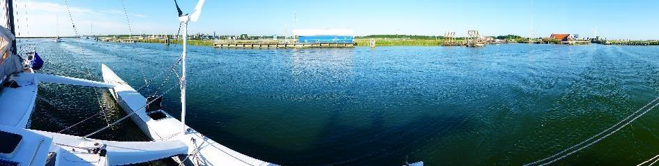 Panorama Hafeneinfahrt Ijsselmeer