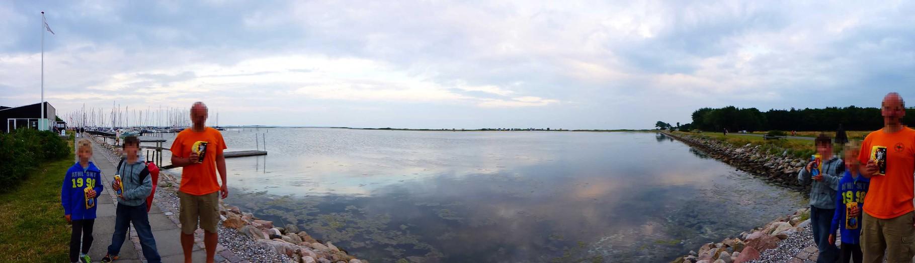 Panorma vom Marstaler Innenhafen