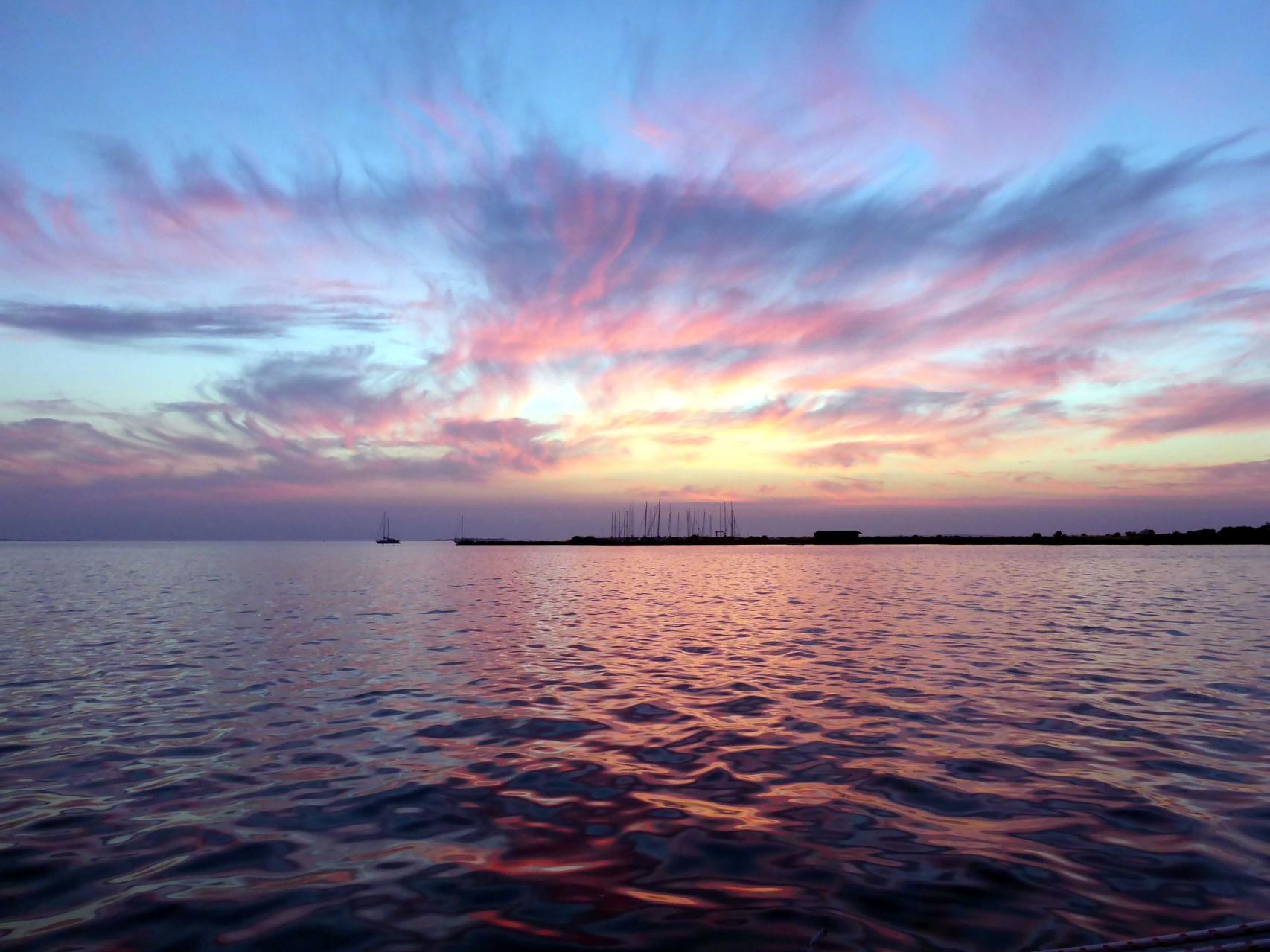 Sonnenuntergang Birkholm