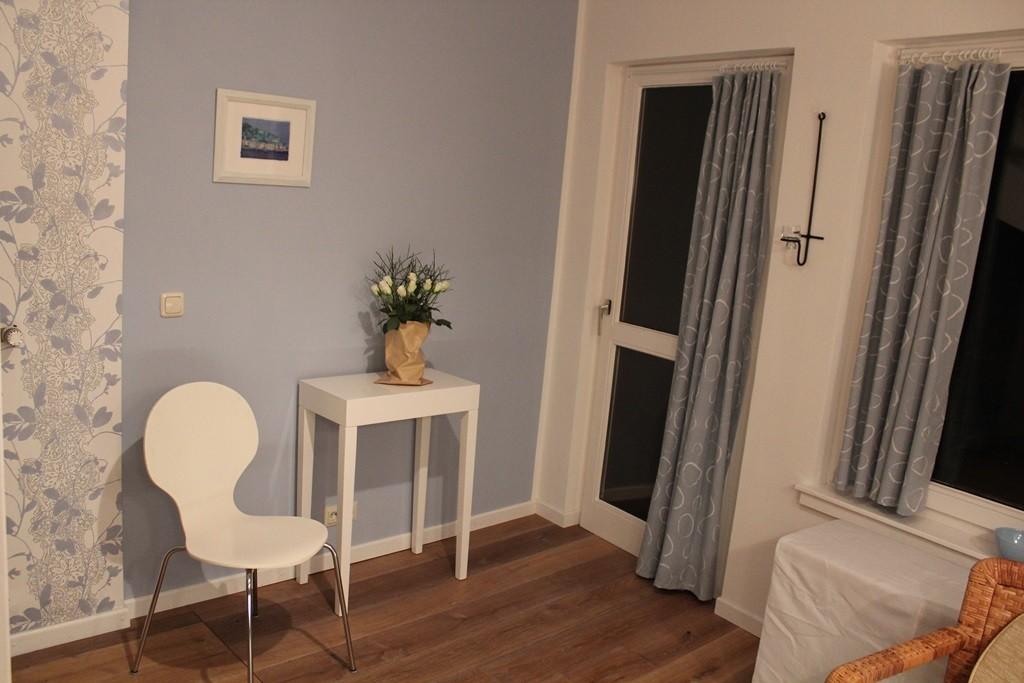Ferienwohnung in Hameln Küche und Balkon