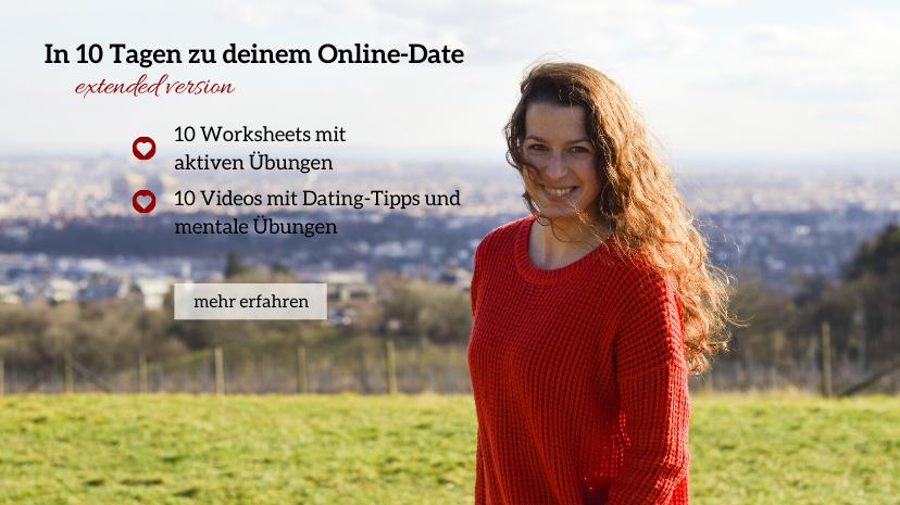 Bild: in 10 Tagen zu deinem Online-Date