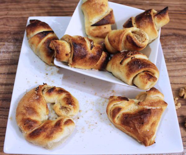 Bild: mentalLOVE Blogparade das beste Kochrezept zum Verlieben - Kardia Serena - Apfel-Nuss-Röllchen 2