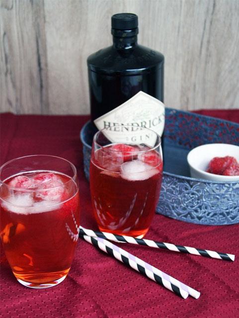 Bild: mentalLOVE Blogparade das beste Kochrezept zum Verlieben - Ninamanie - Pink Empire Drink