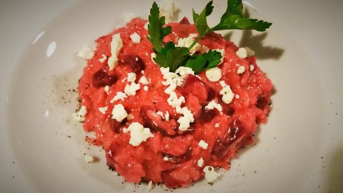 Bild: mentalLOVE Blogparade das beste Kochrezept zum Verlieben - Massloskochen - rote-Rüben-Risotto 2
