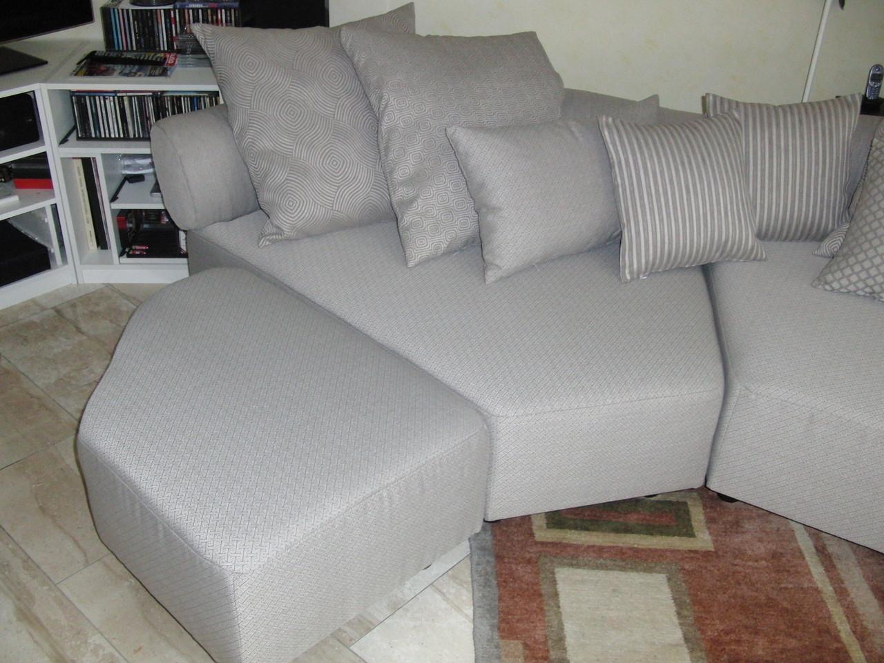 Kissen und Sessel