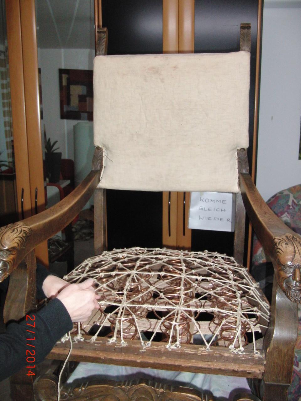 und ausgerichtet, der Sitz geprüft