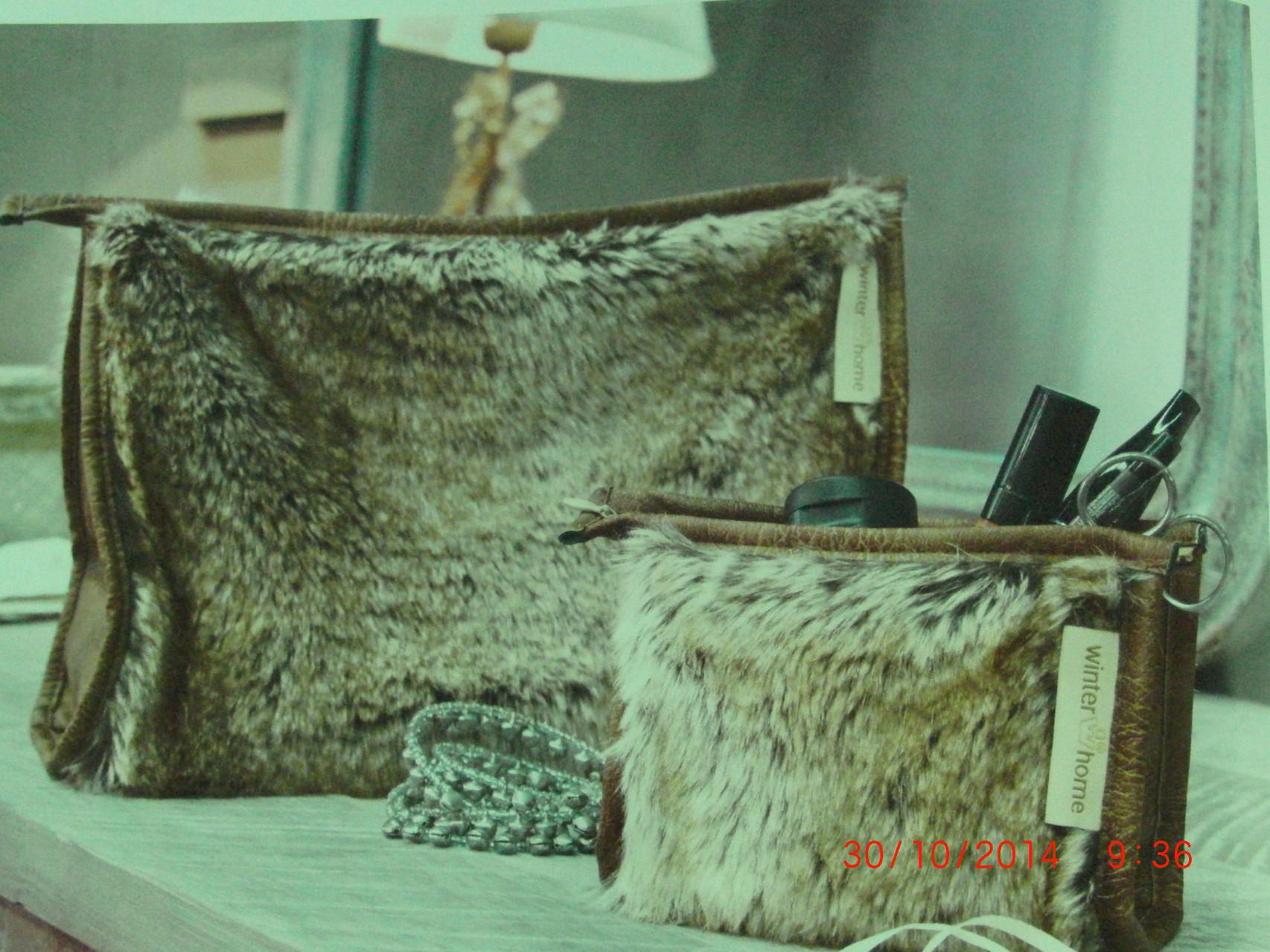 Winter- Home Collection Kulturbeutel für Unterwegs