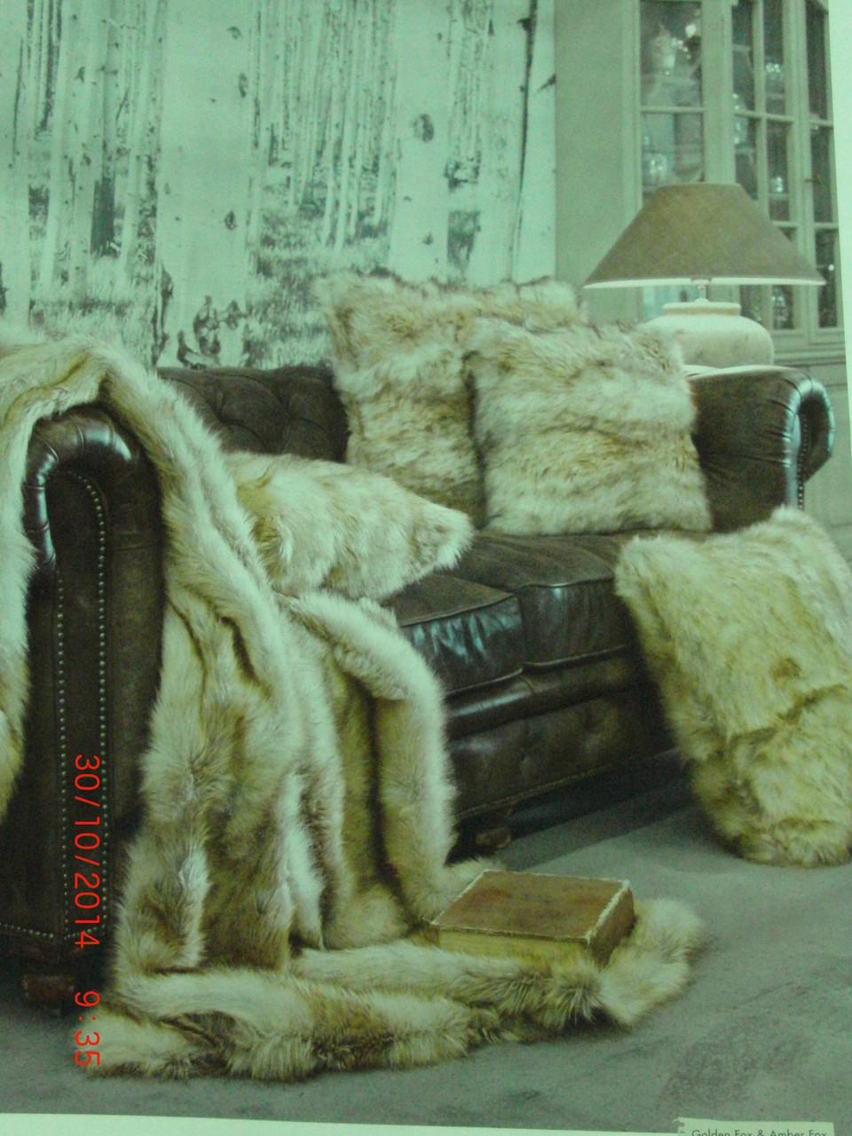 Winter- Home Collection Kissen und Decke
