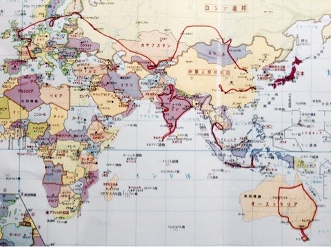My journey map 2015