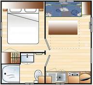 plan mobile home CAP I CAP