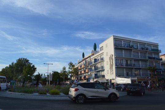ROND POINT DE L'ARRIVEE