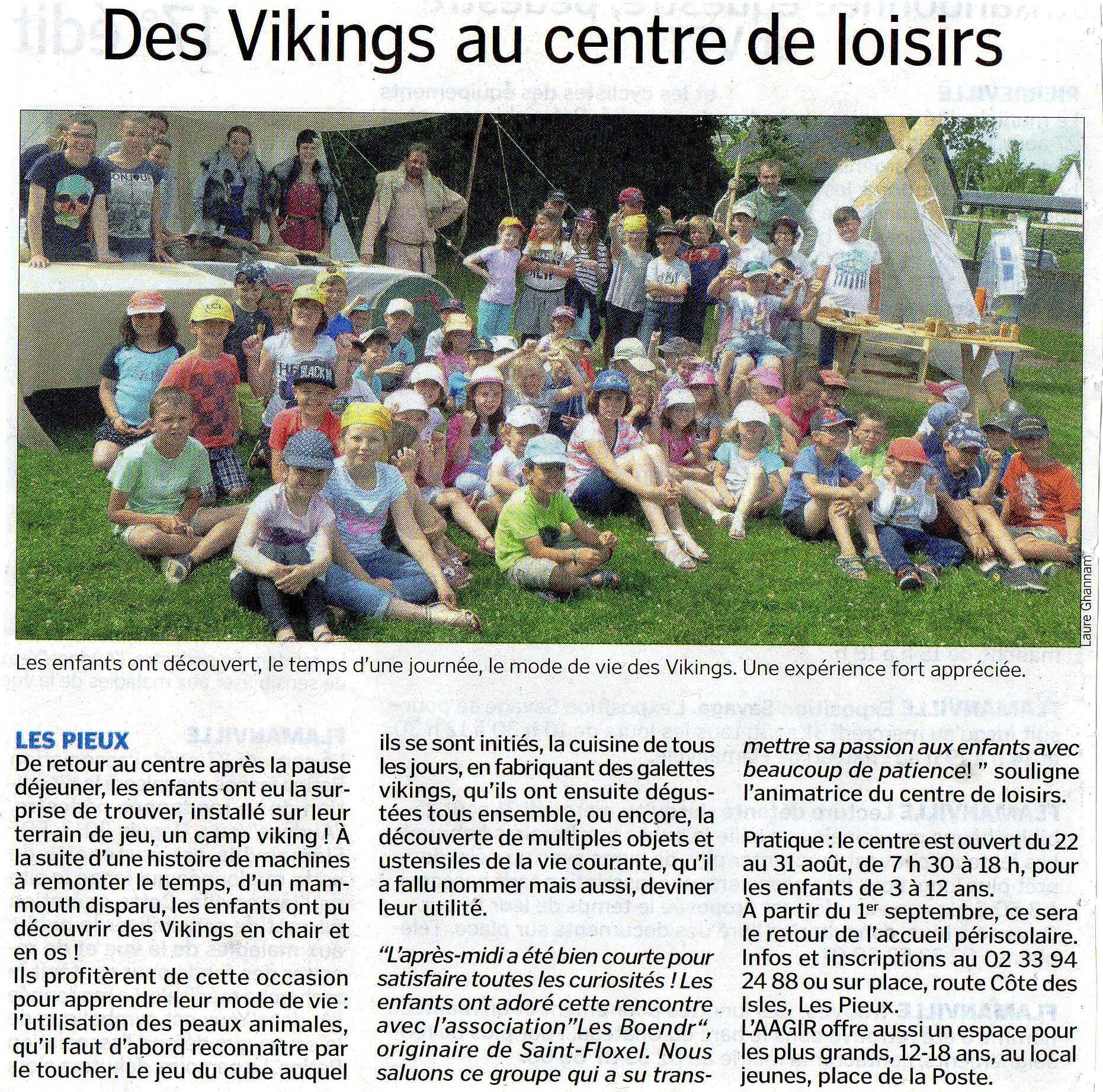 La Presse de la Manche - 27/08/2016