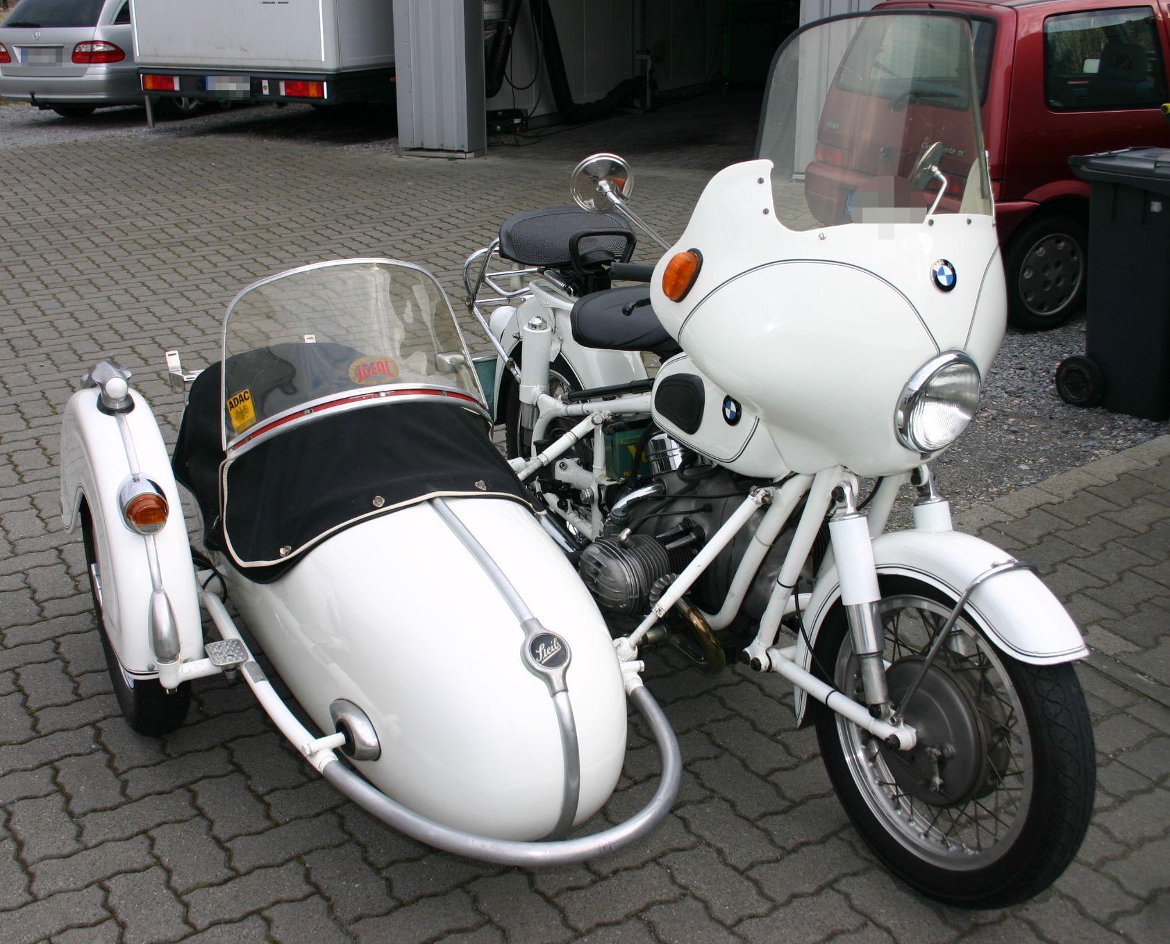 BMW-Gespann Baujahr 1969