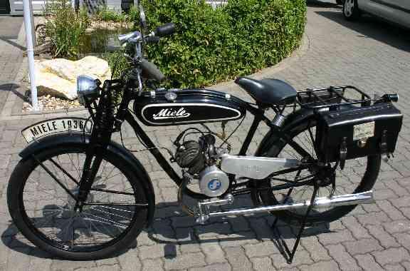 MIELE Motorrad Baujahr 1936