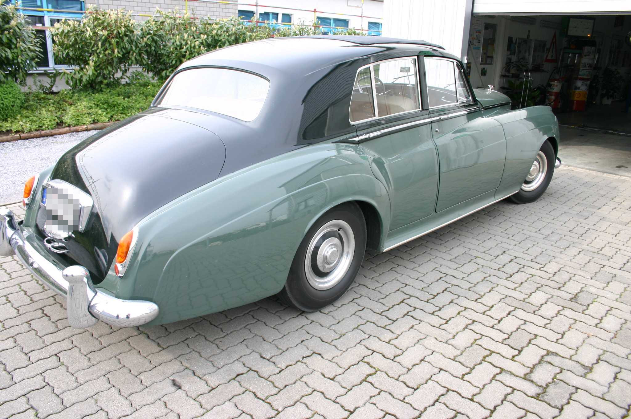 Bentley aus Baujahr 1959 mit geschwindigkeitsabhängiger Komfortbremsanlage