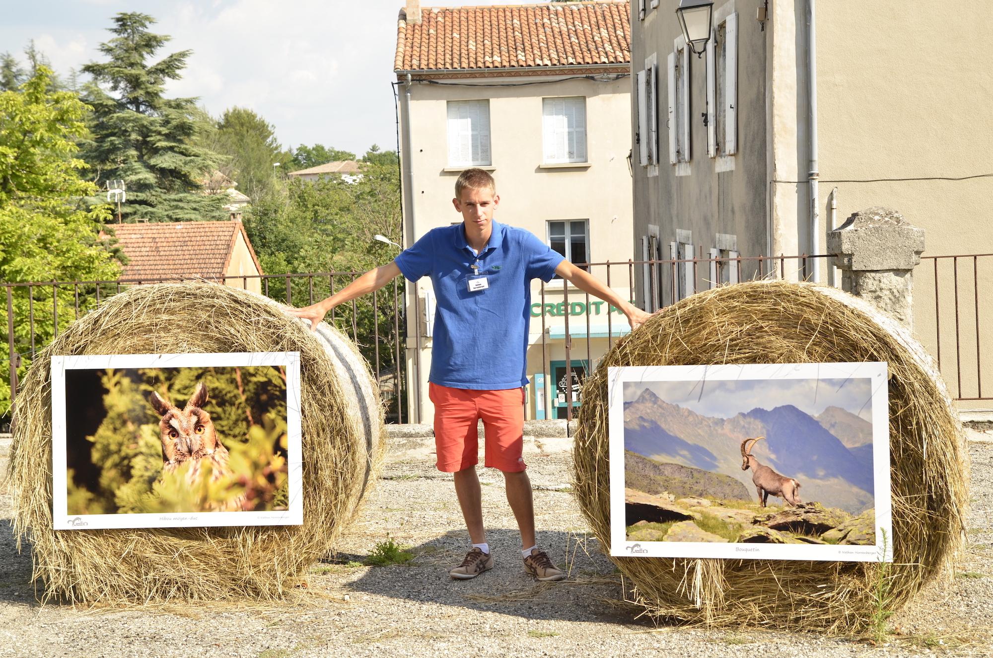 """2013 : Exposition au Festival """"Les Silences du Ventoux"""""""