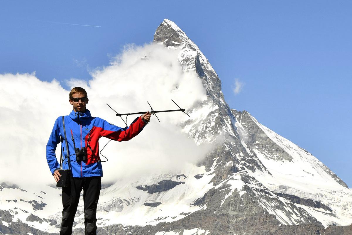 2016 : Suivi télémétrique de Niverolle alpine dans les Alpes suisses (Valais), face au Cervin