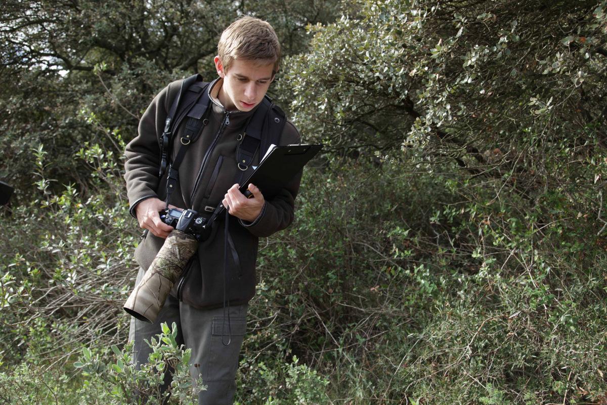 2012 : Inventaire herpétologique dans la Vallée des Baux