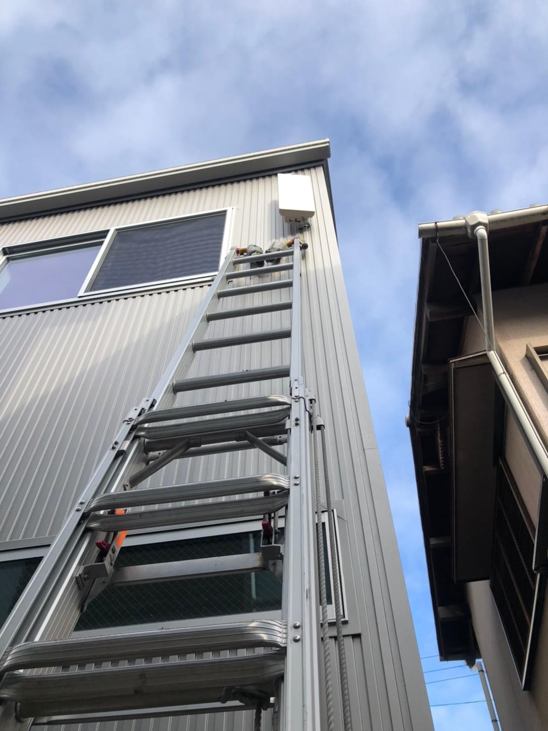 茨木市 地デジデザインアンテナ取付設置工事
