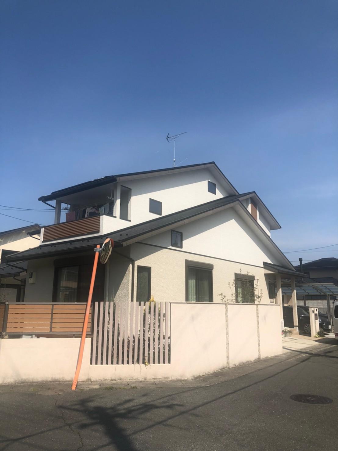 京都府左京区 BSCS4K8Kアンテナ追加取付設置工事