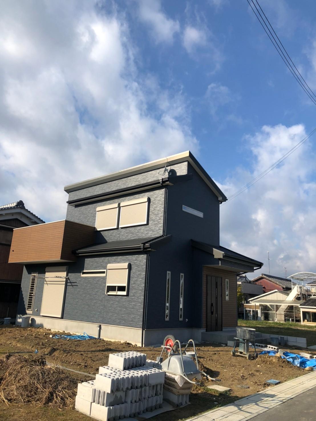 奈良県葛城市 新築 地デジデザインBSCS4K8Kアンテナ取付設置工事