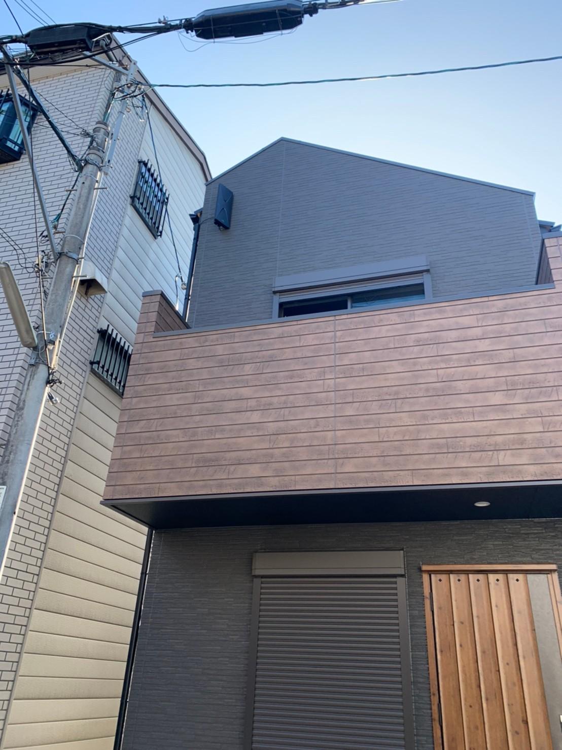 大阪府堺市 新築 地デジデザインアンテナ取付設置工事