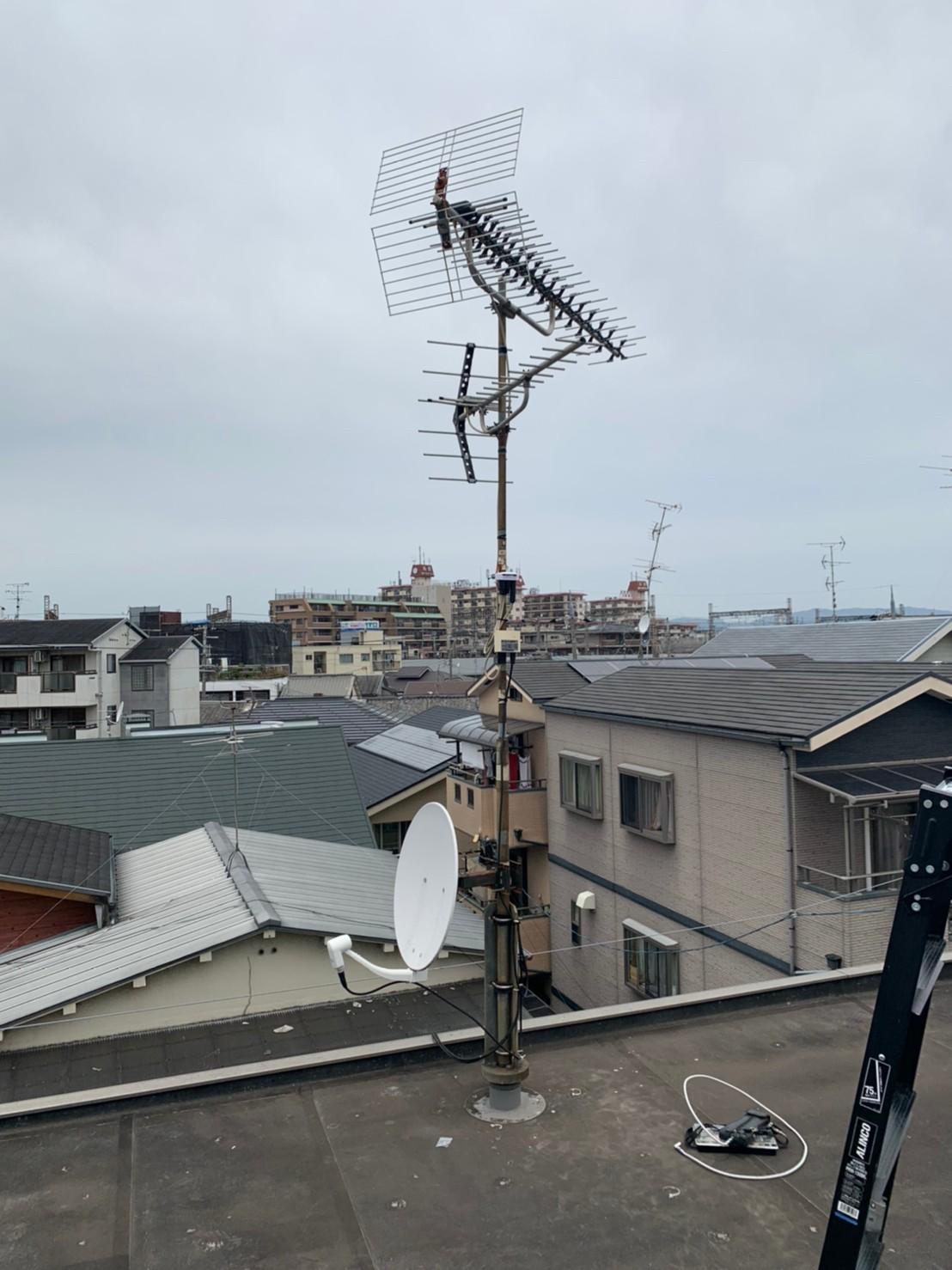 寝屋川市 アンテナ修理