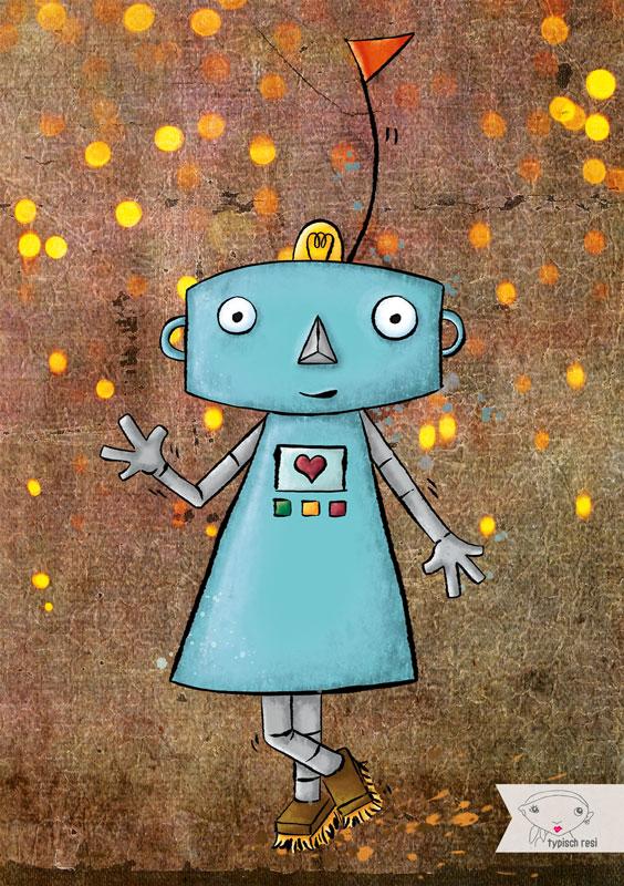 Ono, der Gefühlsroboter