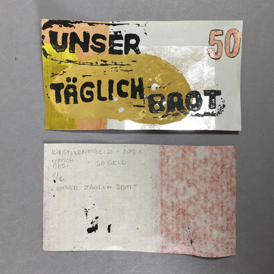 April - Mai /// KünstlerNotgeld - es geht weiter