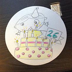 Wunsch: 26.Geburtstag