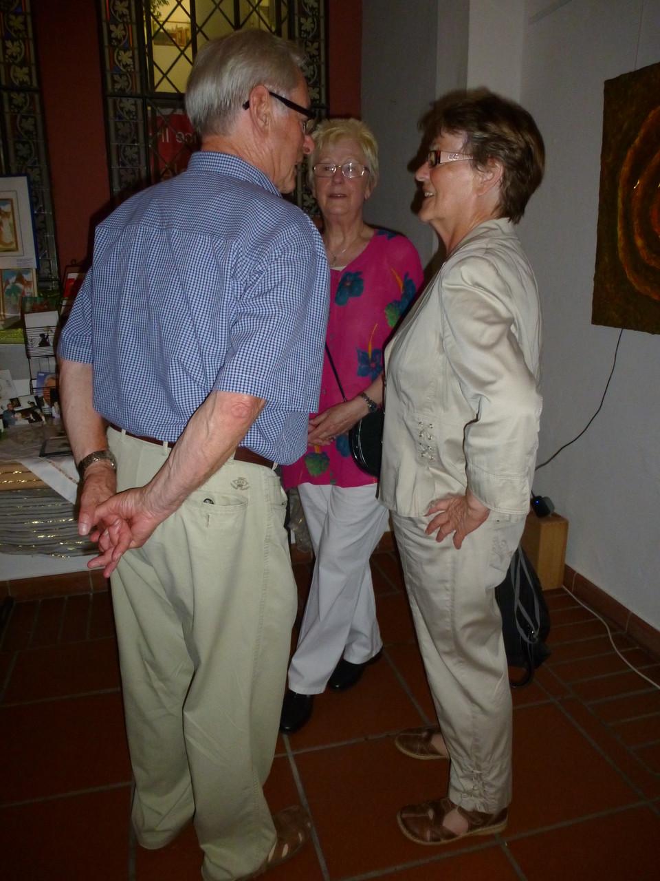 Ehepaar Heiner aus dem STE zu Besuch