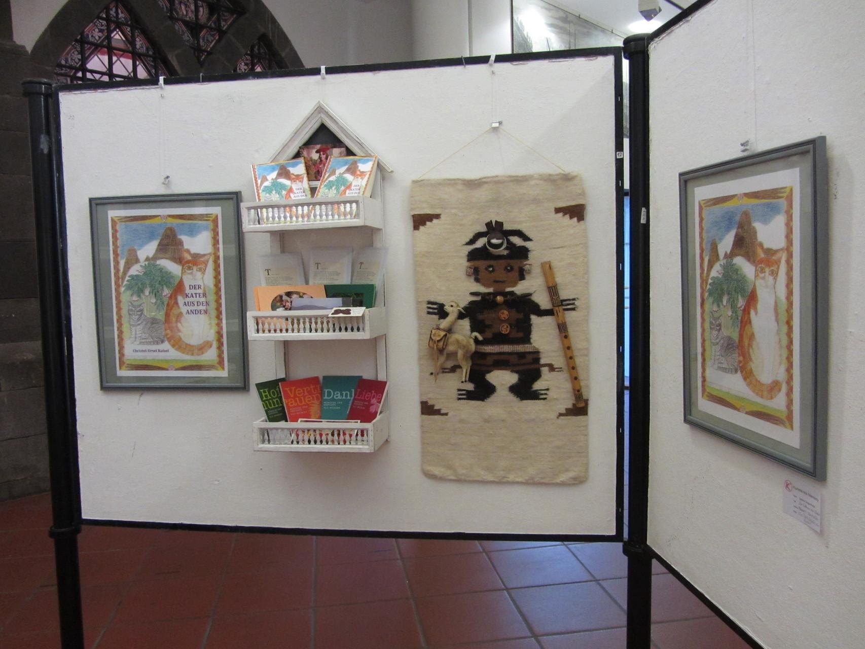 """Mein neues Buch """"Der Kater aus den Anden"""" mit Pachamama, Göttin der Inka"""