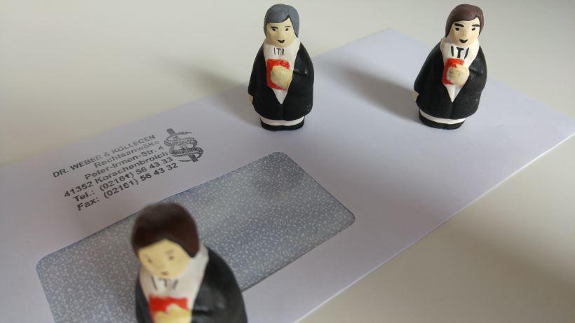 Recht mit Anwalt - Briefzustellung