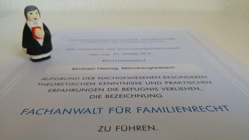 Recht mit Anwalt - Fachanwalt für Familienrecht Michael Hennig