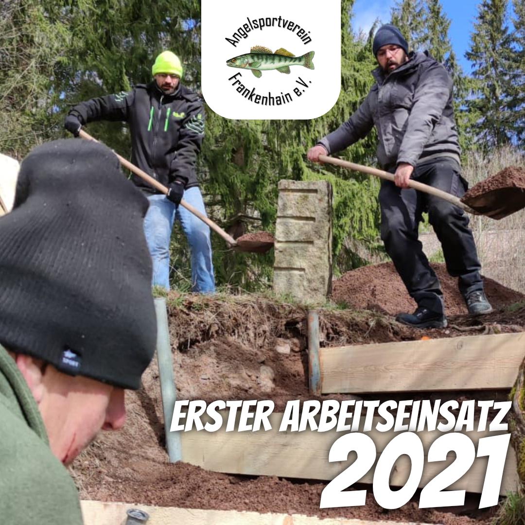 Erster Arbeitseinssatz 2021