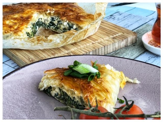 Spinat Boerek Jamie Oliver l Jamie Oliver Feta Pie l Griechische Boerek-Kuchen mit Spinat