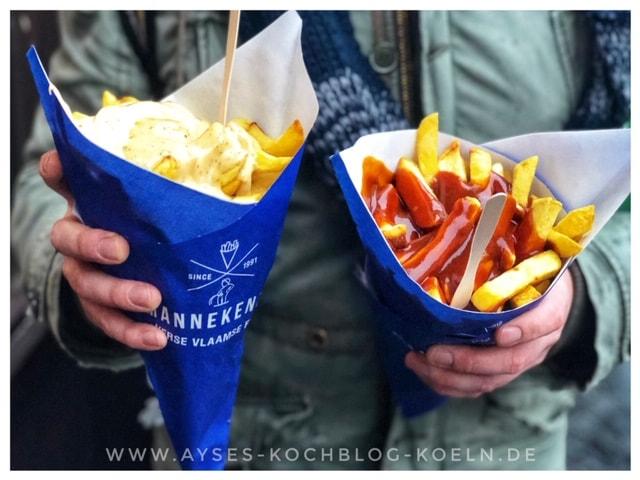 Eine Ode an die Pommes |Manneken Pis in Amsterdam l die besten Pommes der Welt