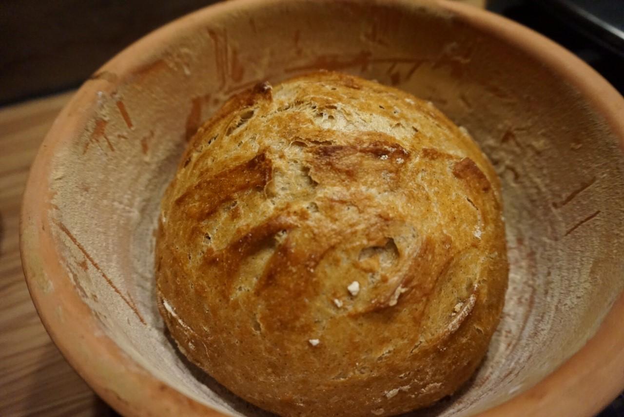 einfaches Monheimer Bauernbrot mit Hefe | ekmek