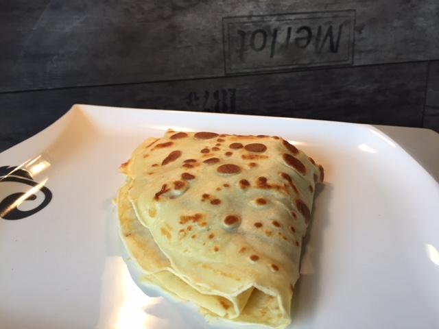 Crepes Rezept aus Paris mit Erbeeren und Nutella
