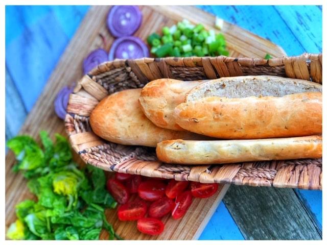 Tuerkisches Sandwich Brot wie Subway