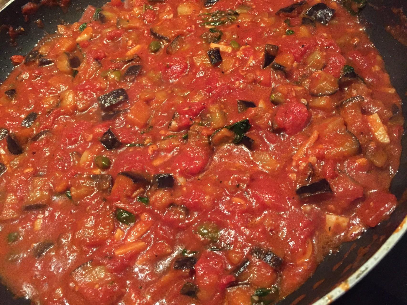 Rezept Jamie Oliver sizilianische Pasta alla Norma mit Aubergine