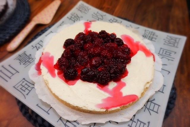 Zutaten no bake cheesecake l Kaesekuchen aus dem Kuehlschrank ohne backen
